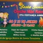 Festa Junina Creche Mãe Rainha 2015
